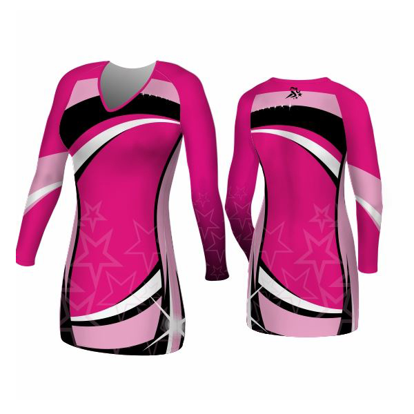 Long Sleeved Cheer Dress
