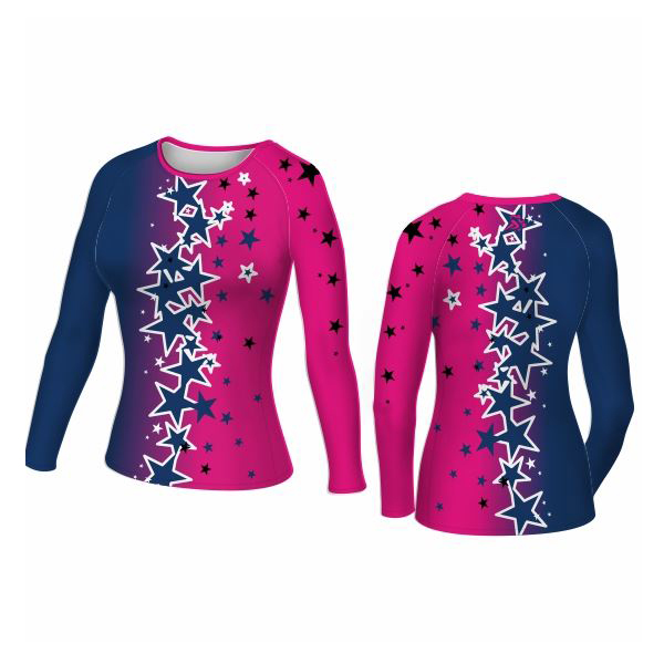 Long Sleeved Cheer Top