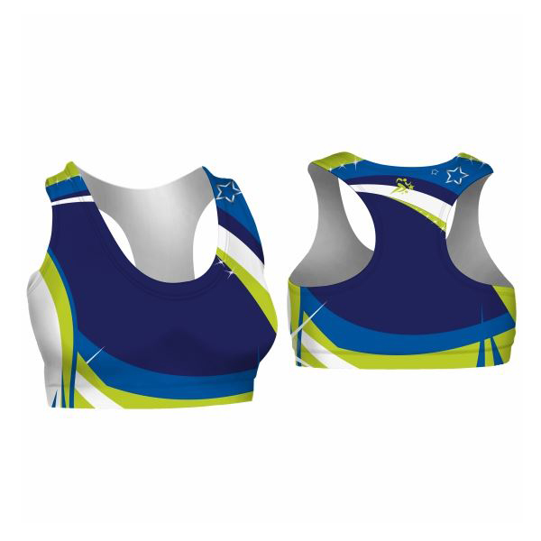 Sleeveless Cropped Cheer Top