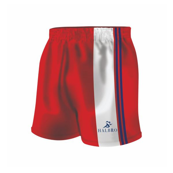 Digital Print Football Shorts
