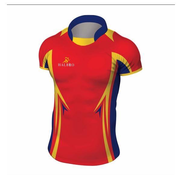 Digital Print Rugby Shirts