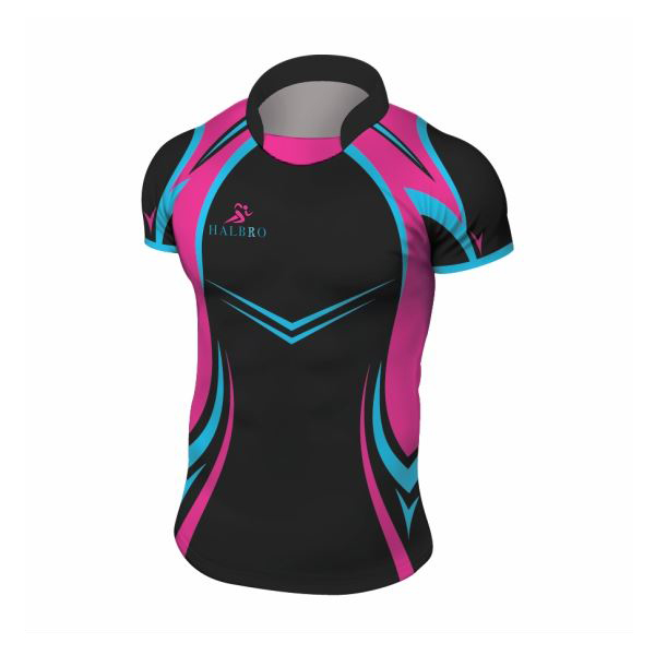 Womens Digital Print Rugby Shirts